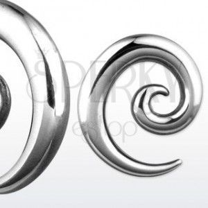 Stalowy expander ślimacza spirala, różne rozmiary obraz