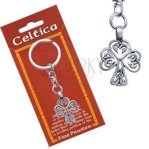 Zawieszka do kluczy, metalowa, motyw celtycki, drzewo obraz