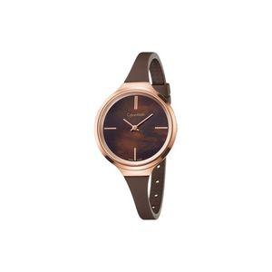 Calvin Klein Lively Zegarek Brązowy Złoty obraz