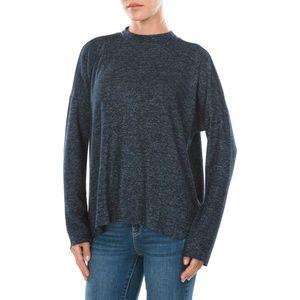 Tom Tailor Denim Sweter Niebieski obraz