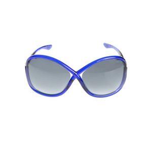 Tom Ford Whitney Okulary przeciwsłoneczne Niebieski obraz