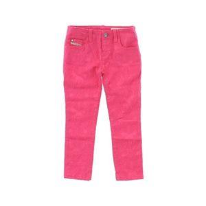 Diesel Spodnie dziecięce Różowy obraz