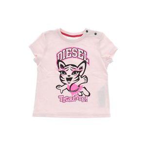 Diesel Koszulka dziecięce Różowy obraz