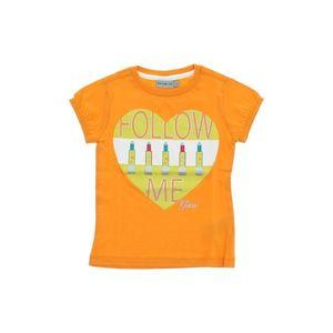 Geox Koszulka dziecięce Pomarańczowy obraz