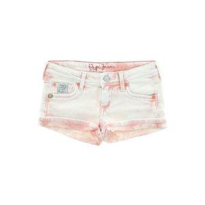 Pepe Jeans Szorty dziecięce Różowy Biały obraz