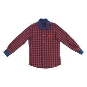 John Richmond Koszula dziecięca Niebieski Czerwony obraz