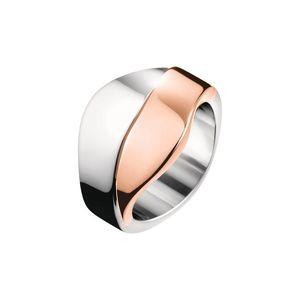 Calvin Klein Pierścień Różowy Srebrny obraz