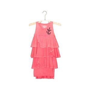 Diesel Sukienka dziecięca Różowy obraz