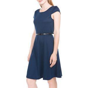 Vero Moda Vigga Flair Sukienka Niebieski obraz