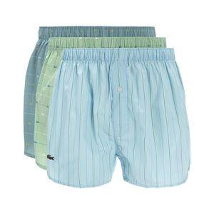 Lacoste Bokserki 3szt Niebieski Zielony obraz