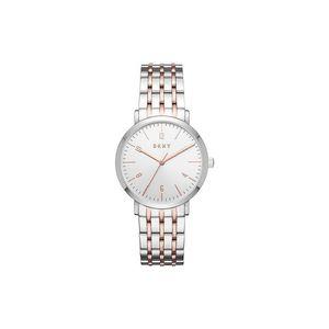 DKNY Minetta Zegarek Srebrny Beżowy obraz