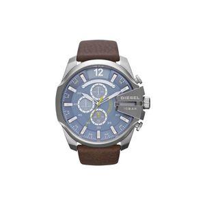 Diesel Zegarek Brązowy Srebrny obraz