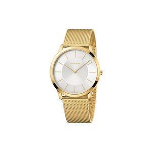 Calvin Klein Minimal Zegarek Złoty obraz