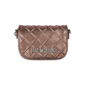 Love Moschino Cross body bag Brązowy Złoty obraz