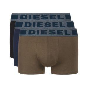 Diesel 3-pack Bokserki Czarny Zielony Brązowy obraz