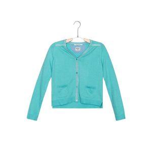 Pepe Jeans Sweter dziecięcy Niebieski Zielony obraz