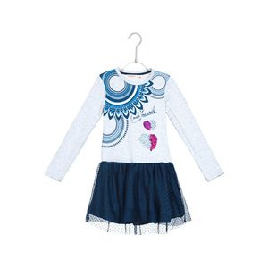 Desigual Annapolis Sukienka dziecięca Szary obraz