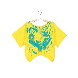 Diesel Koszulka dziecięce Żółty obraz