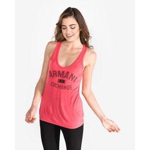 Armani Exchange Podkoszulek Czerwony obraz