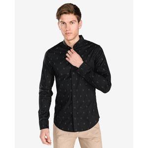 Armani Exchange Koszula Czarny obraz