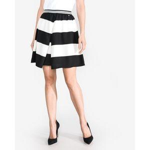 Armani Exchange Spódnica Czarny Biały obraz