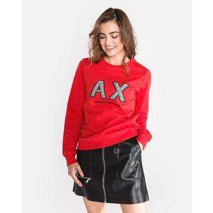Armani Exchange Bluza Czerwony obraz