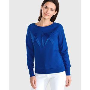 Armani Exchange Bluza Niebieski obraz