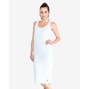 Calvin Klein Sukienka Niebieski Biały obraz