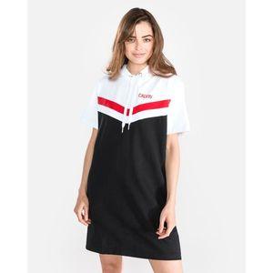 Calvin Klein Sukienka Czarny Biały obraz