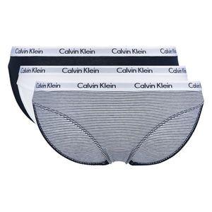 Calvin Klein 3-pack Spodenki Czarny Biały obraz