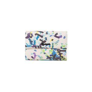 Desigual Confetti Alba Portfel Biały Wielokolorowy obraz