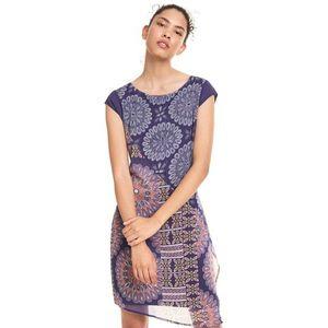 Desigual Kiroga Sukienka Niebieski obraz
