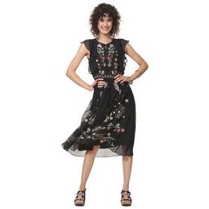 Desigual Sandy Sukienka Czarny obraz
