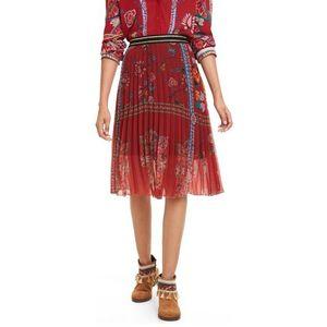 Desigual Francia Spódnica Czerwony obraz