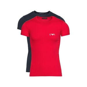 Emporio Armani 2-pack Dolna koszulka Niebieski Czerwony obraz