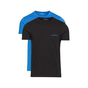 Emporio Armani 2-pack Dolna koszulka Czarny Niebieski obraz