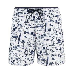 Pepe Jeans Genil Strój kąpielowy Niebieski Biały obraz