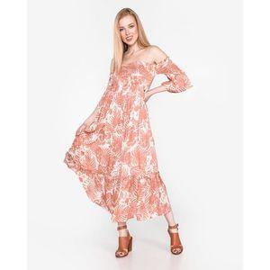 Pepe Jeans Mika Sukienka Różowy Beżowy obraz
