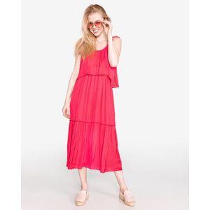 Pepe Jeans Larisa Sukienka Różowy obraz