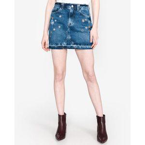 Pepe Jeans Revive Spódnica Niebieski obraz