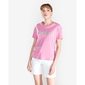 Pepe Jeans Esther Koszulka Różowy obraz