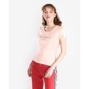 Pepe Jeans Angelica Koszulka Różowy obraz