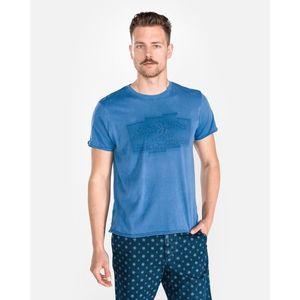 Pepe Jeans Izzo Koszulka Niebieski obraz