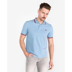 Fred Perry Polo Koszulka Niebieski obraz