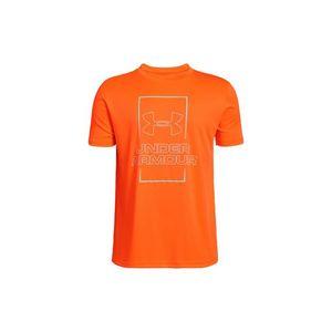 Under Armour Koszulka dziecięce Pomarańczowy obraz