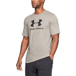 Under Armour Sportstyle Koszulka Brązowy Szary obraz
