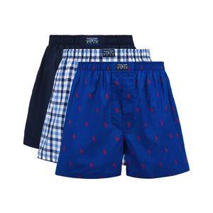 Polo Ralph Lauren Bokserki 3szt Niebieski obraz