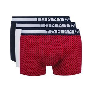 Tommy Hilfiger 3-pack Bokserki Niebieski Czerwony Biały obraz