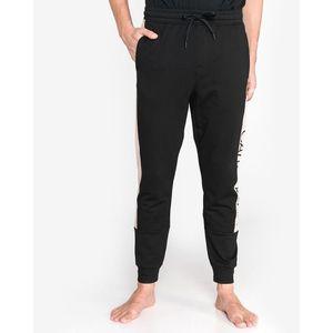 Calvin Klein Spodnie do spania Czarny Beżowy obraz