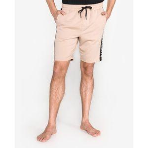 Calvin Klein Spodnie do spania Beżowy obraz
